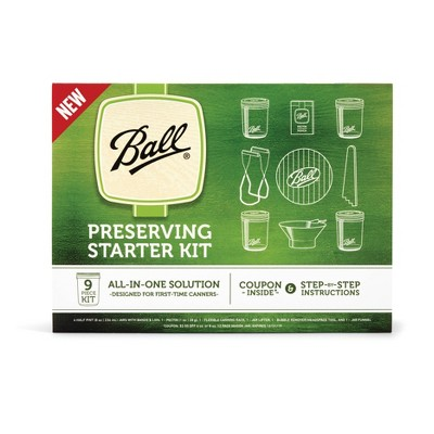 Ball 9pc Preserving Starter Kit