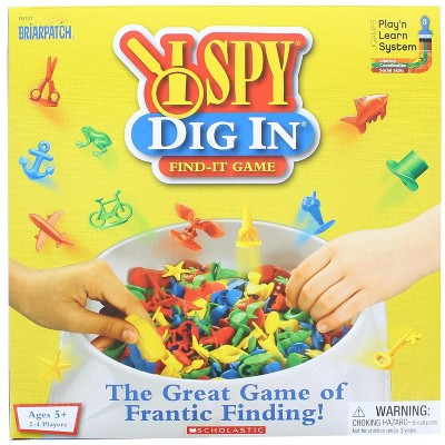 University Games I Spy Dig In Frantic Finding Game | For 2-4 Players