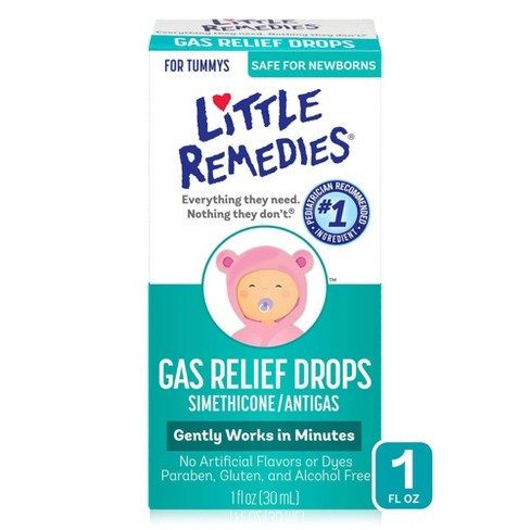 Little Remedies Gas Relief Drops for Babies - Natural Berry - 1 fl oz - image 1 of 3