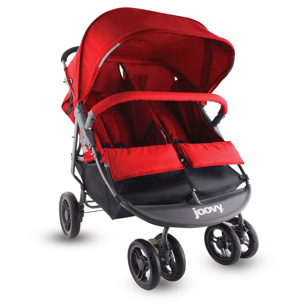 Joovy Scooterx2 Double Stroller Red