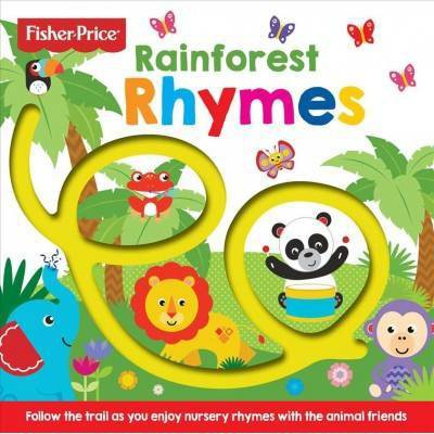 Fisher-Price Rainforest Rhymes - by Igloo Books (Board Book)