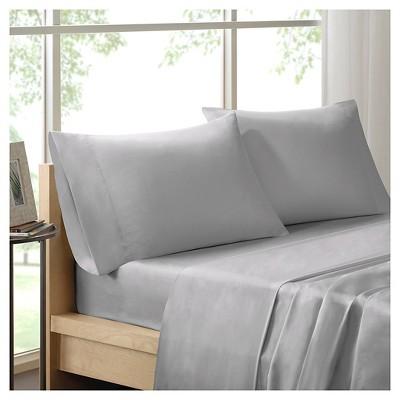 Liquid Cotton Pillowcases (King)Silver