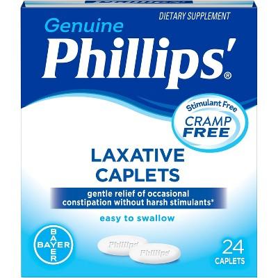 Phillips' Laxative Digestive Treatment Caplets