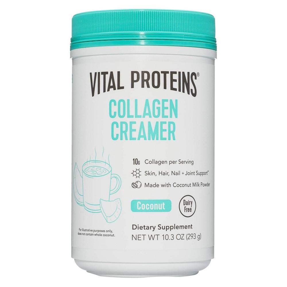 Vital Proteins Collagen Coconut Creamer Dietary Supplements 10oz