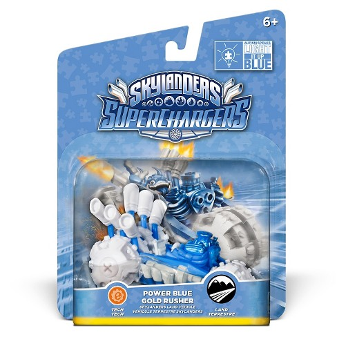 Skylanders SuperChargers Power Blue Gold Rusher - image 1 of 4