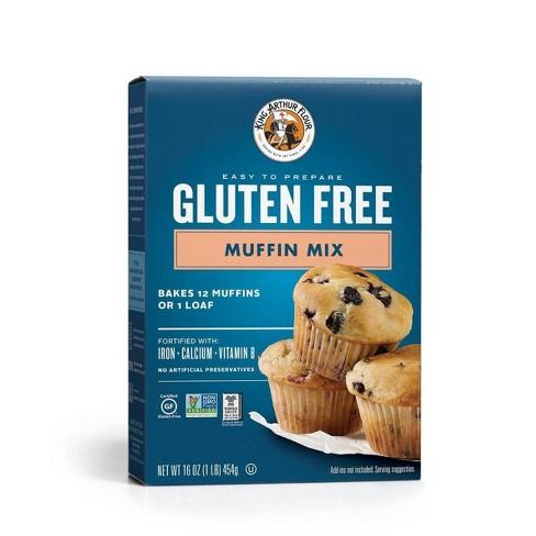 King Arthur Flour Gluten Free Muffin Mix - 16oz : Target