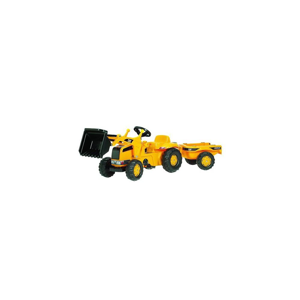 Kettler Caterpillar Tractor With Trailer