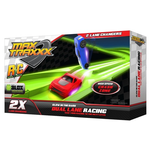 Max Traxxx Glow in the Dark Lane Changer 2pk - image 1 of 2