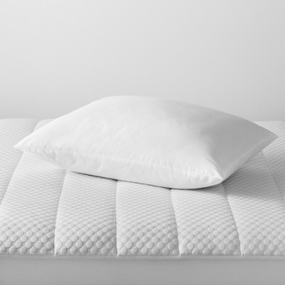 Won't Go Flat Bed Pillow (King)White - Made By Design™
