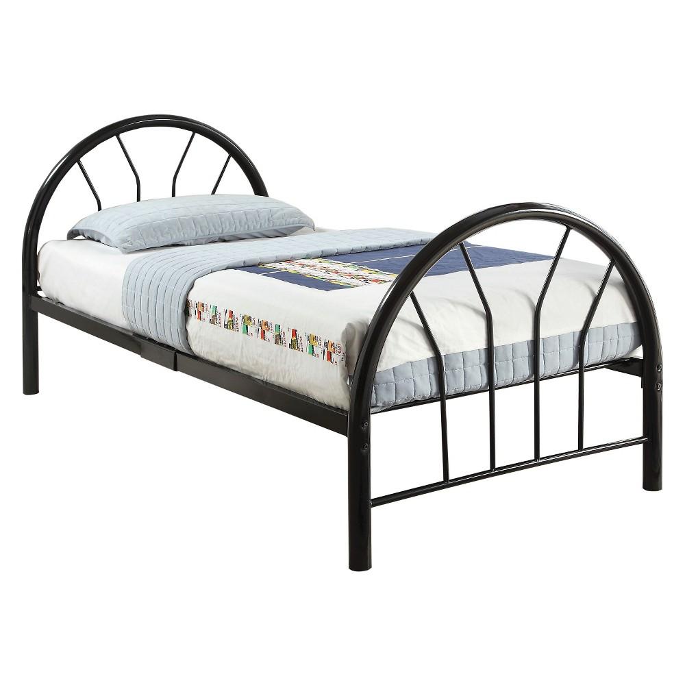 Silhouette Kids Bed - Black(Twin) - Acme