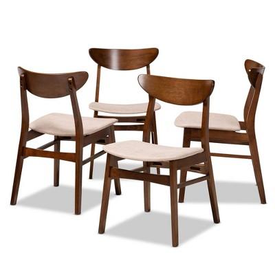 Set of 4 Parlin Dining Chair - Baxton Studio