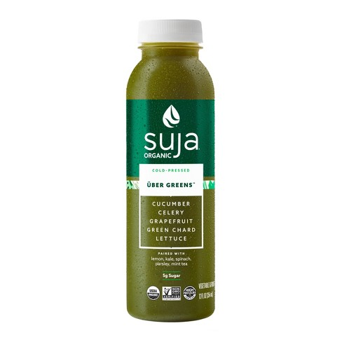 Suja Uber Greens Organic Vegan Fruit & Vegetable Juice Drink 12oz - image 1 of 4