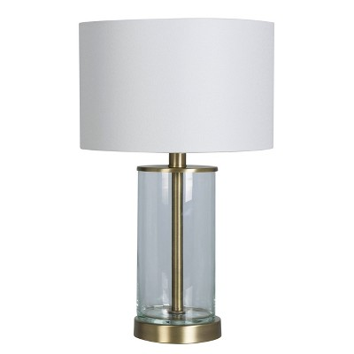 Fillable Accent with USB Table Lamp (Includes LED Light Bulb)Brass - Project 62™