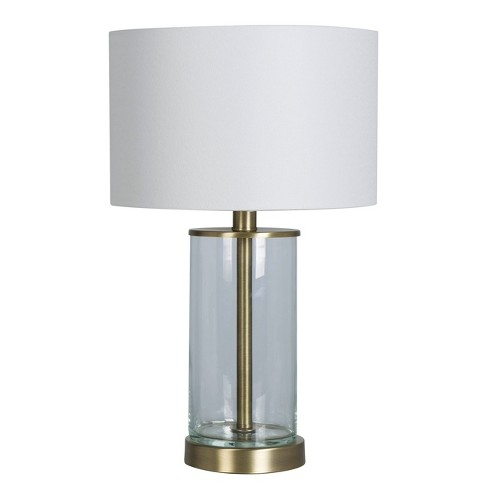 Fillable Accent With Usb Table Lamp Includes Led Light Bulb Brass Project 62 Target