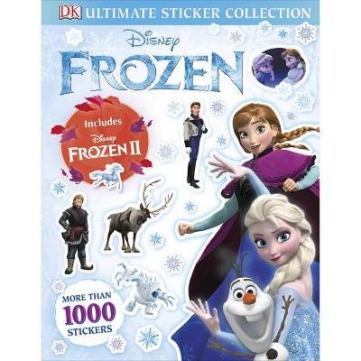 Disney Frozen Ultimate Sticker Collection (Ultimate Sticker Collection) - by DK (Paperback)