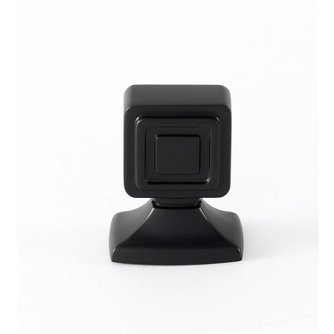 """Alno A986-1 Cube 1"""" Rectangular Cabinet Knob - image 1 of 1"""