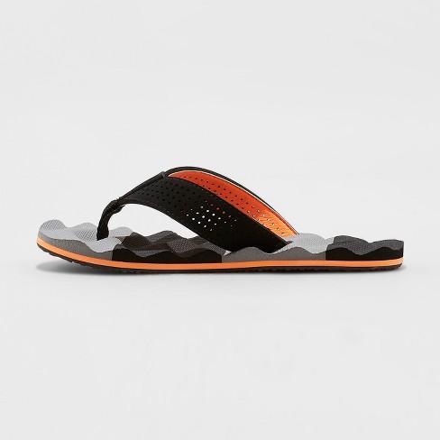 9e1020d6bfa Boys  Carlo Flip Flop Sandals - Cat   Jack™ Black   Target