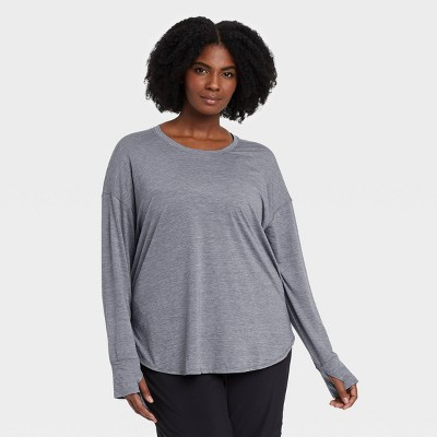 Women's Drop Shoulder Long Sleeve T-Shirt - All in Motion™