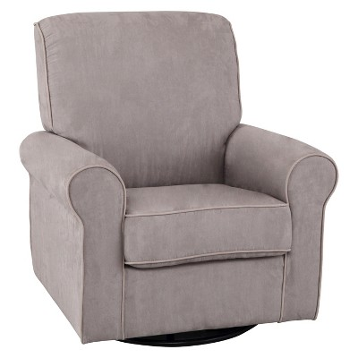 Delta Children® Rowen Nursery Glider Swivel Rocker Chair - Dove Gray