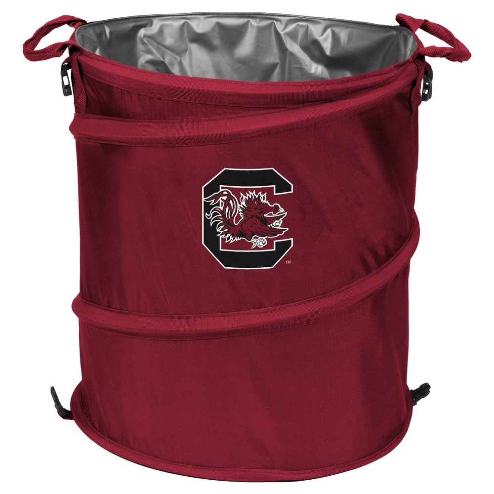 NCAA Texas A/&M Aggies Adult Collapsible 3-in-1 Trash Can Maroon