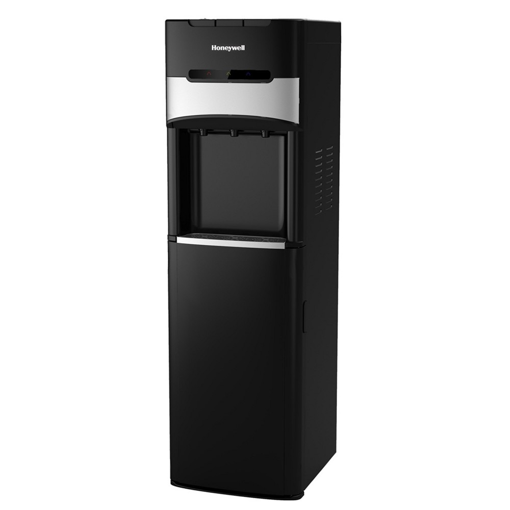 Honeywell 40 Freestanding Bottom Loading Water Cooler Dispenser - Black HWBL1023B2