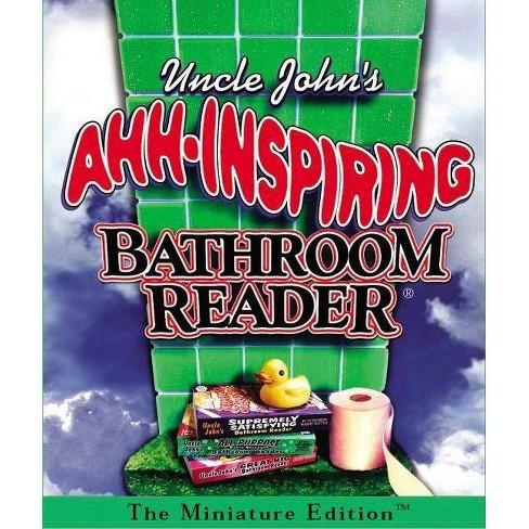 Uncle John's Ahh-Inspiring Bathroom Reader - (Rp Minis) by  Bathroom Reader's Institu (Hardcover) - image 1 of 1