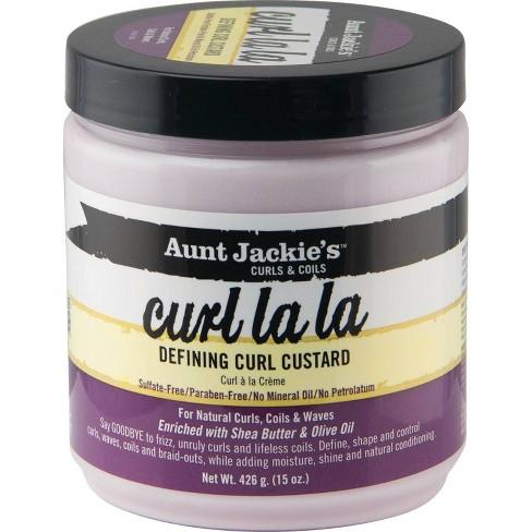 Aunt Jackie's Curl La La Defining Curl Custard - 15oz - image 1 of 3