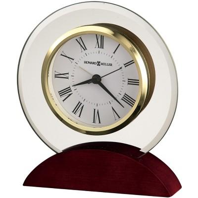 Brass Finish with Quartz Movement Howard Miller Exton Table Clock 645-569