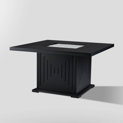 Cavalier Fire Table with Natural Gas Kit Black - Real Flame - image 1 of 3