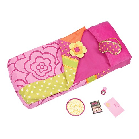 "Our Generation RSBMe Inflatable Sleeping Bag Set for 18"" Dolls - image 1 of 2"