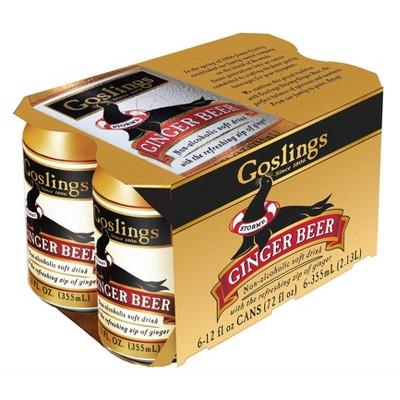 Gosling Ginger Beer - 6pk/12 fl oz Cans