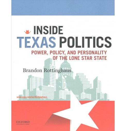 Inside Texas Politics : Power, Policy, and Personality of the Lone Star State (Paperback) (Brandon - image 1 of 1