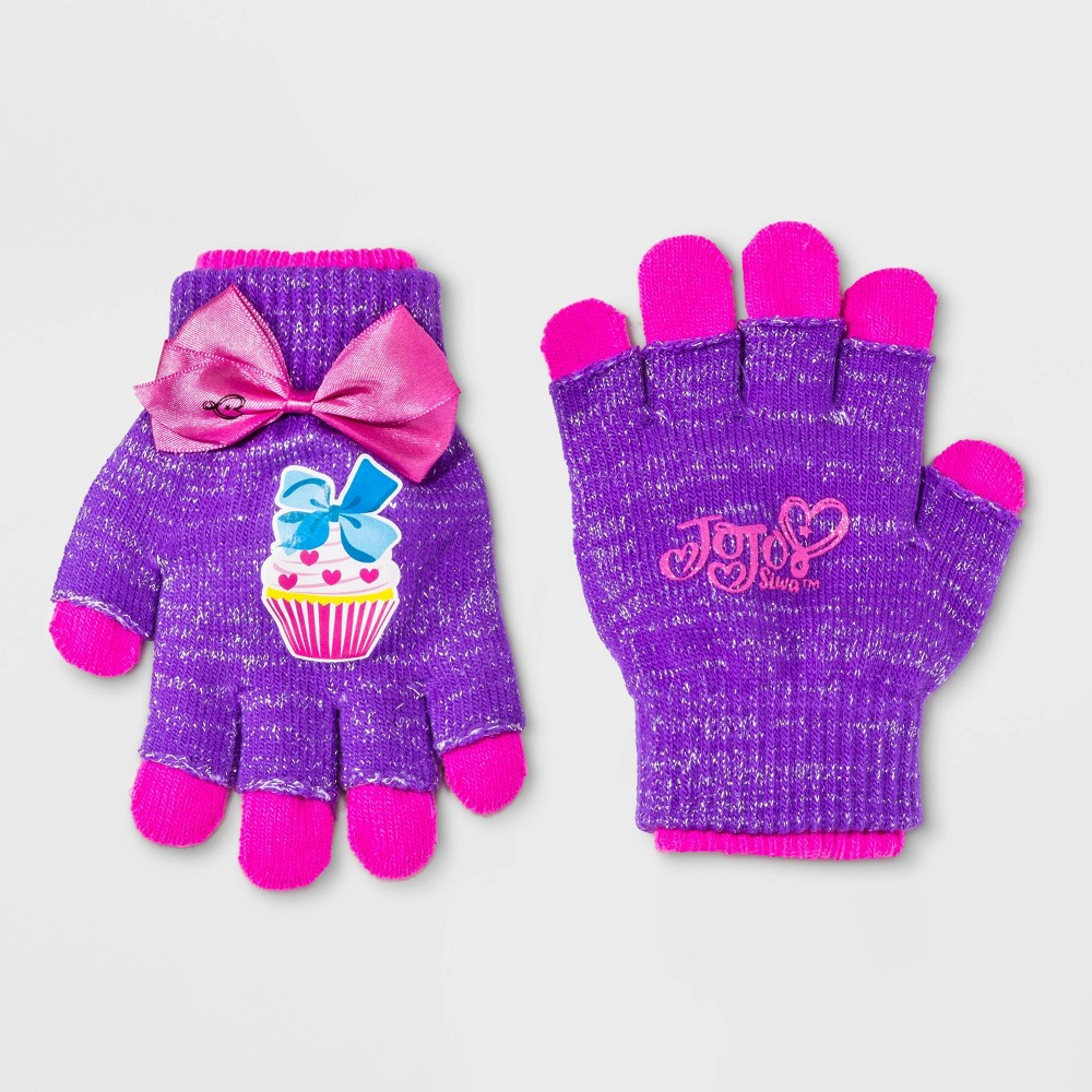 Image of Girls' JOJO Gloves - Purple One Size, Girl's