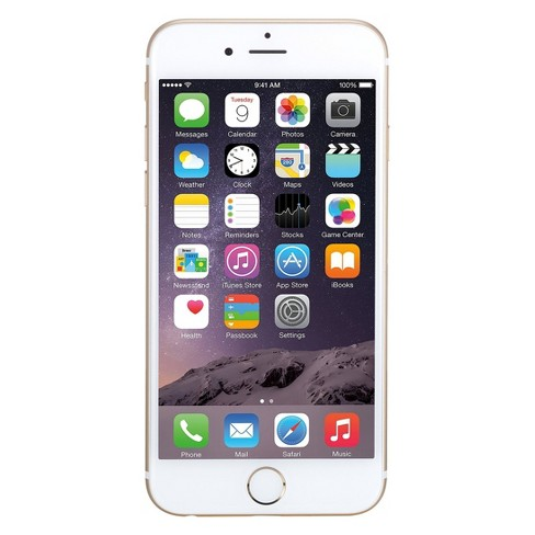 Apple iPhone 6 Pre-Owned (GSM Unlocked) 16GB Smartphone - Gold - image 1 of 2