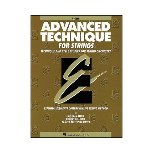 Hal Leonard EE Advanced Technique for Strings Violin - image 1 of 1