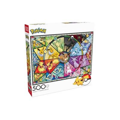 Buffalo Games Entertainment: Pokemon Eevee Evolutions Jigsaw Puzzle - 500pc