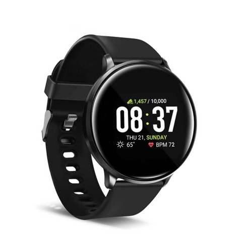 iTouch Sport Fitness Smartwatch 43mm - Black with Black Band - image 1 of 4