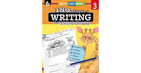 180 Days of Writing for Third Grade, Level 3 : Practice - Assess - Diagnose (Paperback) (Kristi - image 1 of 1