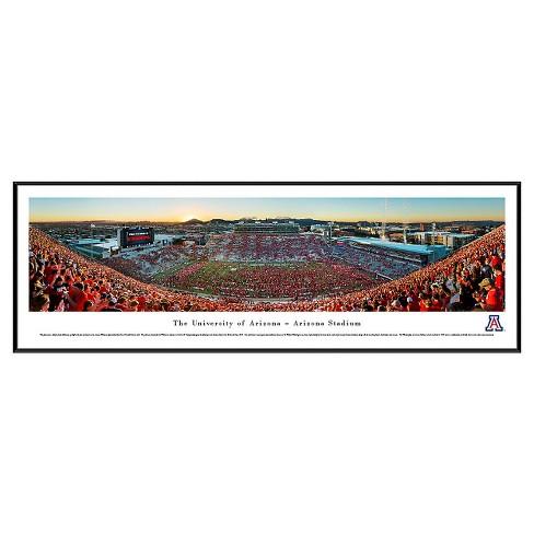 NCAA Blakeway Football Stadium View Framed Wall Art - Standard Frame - image 1 of 1
