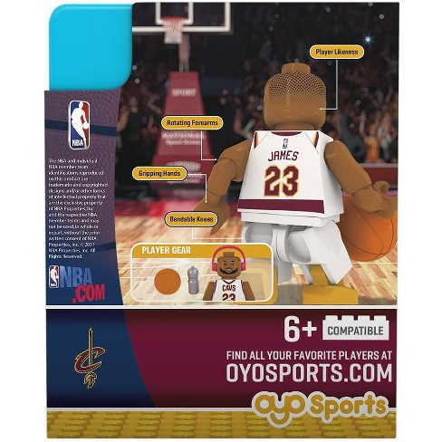 e8bad35cdae Cleveland Cavaliers Lebron James Home Uniform Limited Edition OYO Minifigure