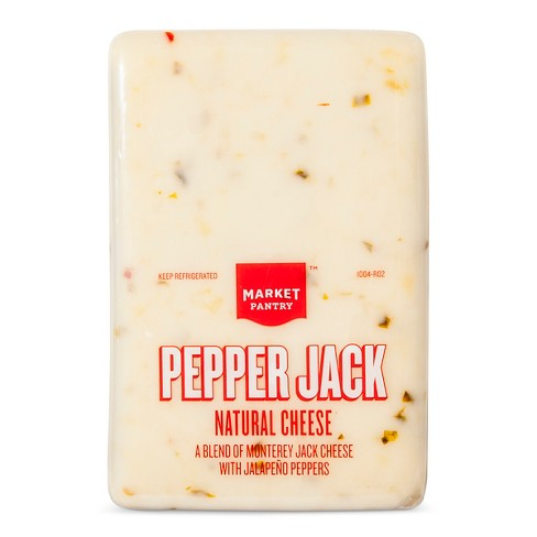 Pepper Jack Natural Cheese - Price Per lb. - Market Pantry™ - image 1 of 1