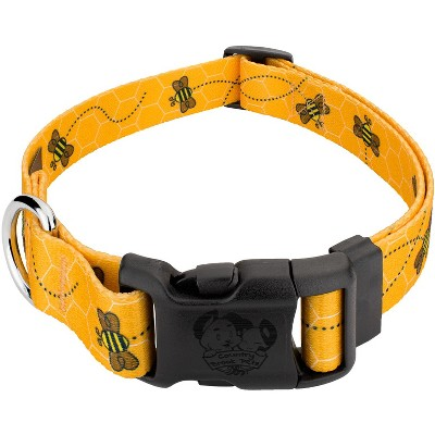 Country Brook Design® Deluxe Busy Bee Dog Collar - Made In The U.S.A.