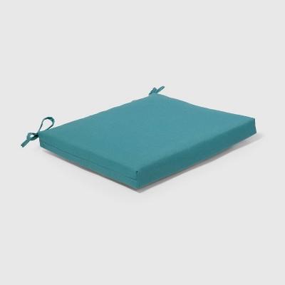 Outdoor Seat Cushion Turquoise - Threshold™