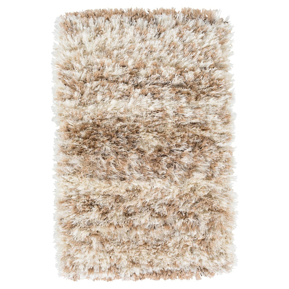 Tufted Accent Rug Cream/Brown (Ivory/Brown) 2'X3' - Surya