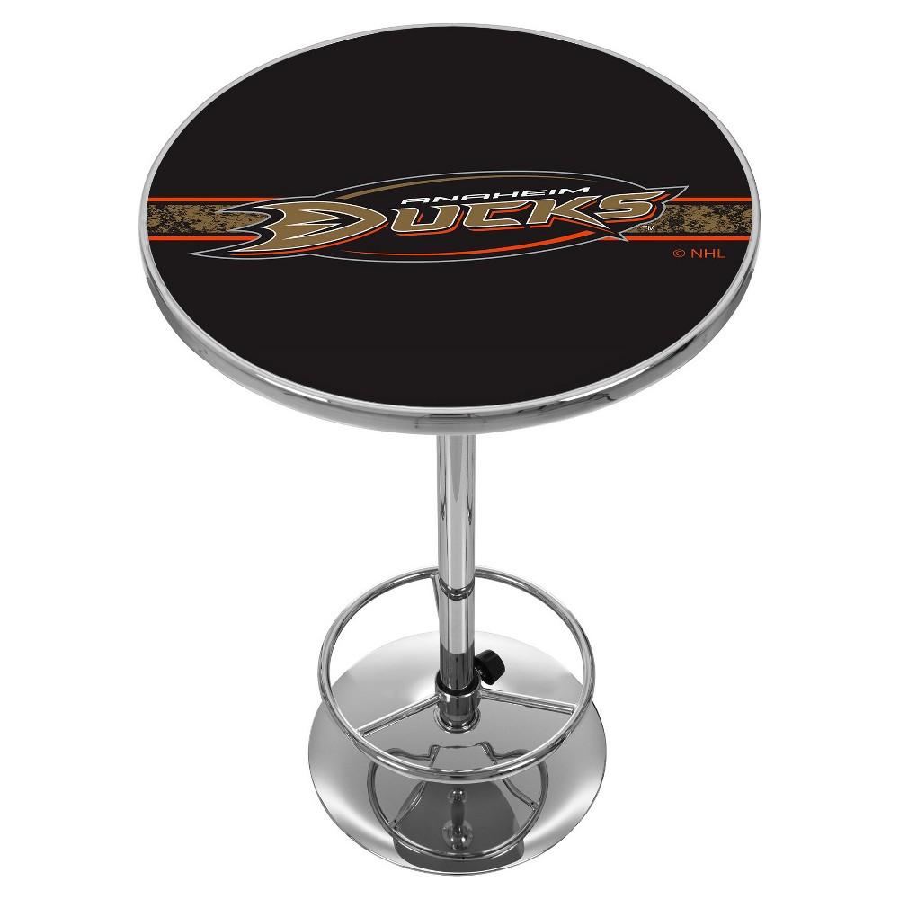 NHL Anaheim Ducks Chrome Pub Table