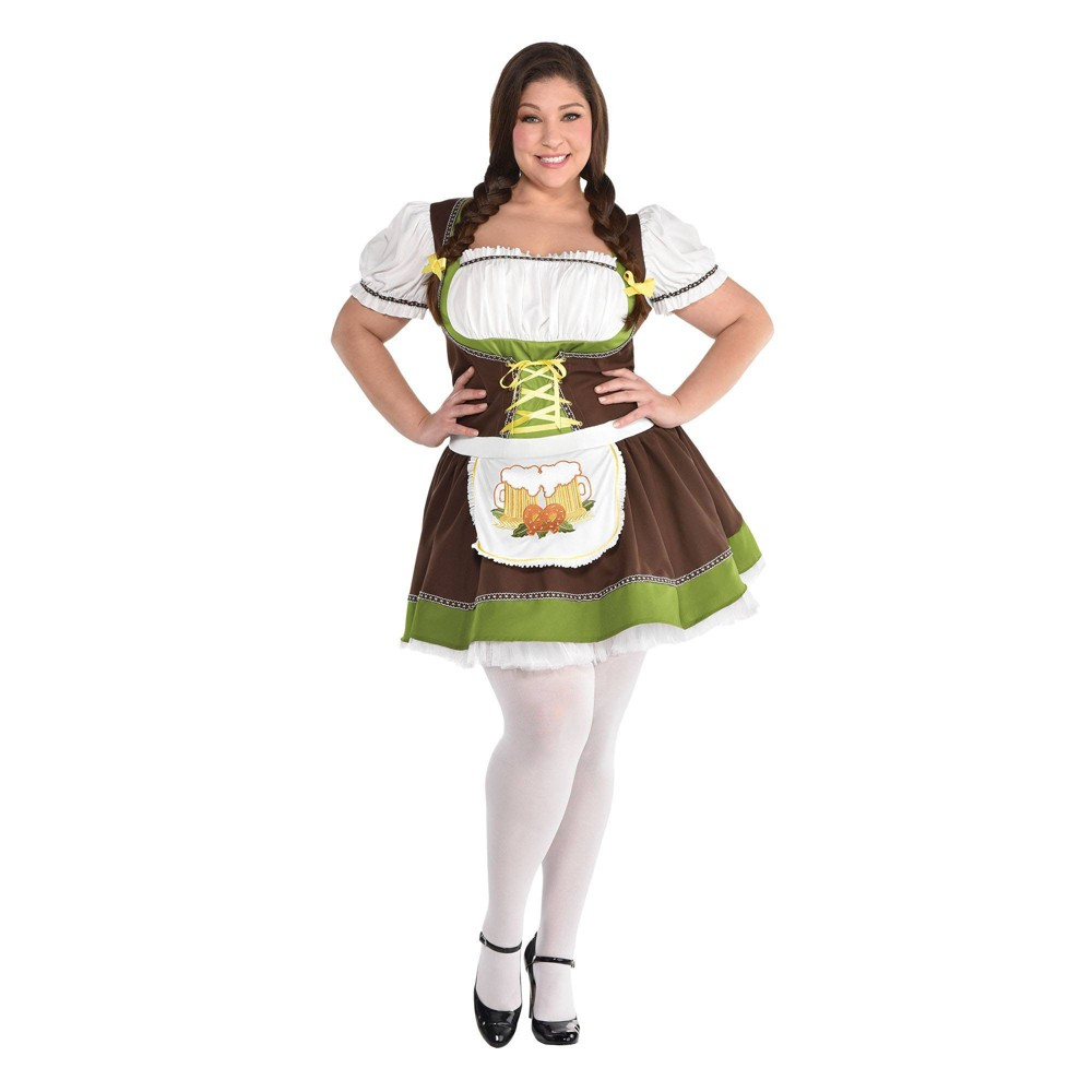Adult Oktoberfest Dress Halloween Costume Plus Xxl 18 20