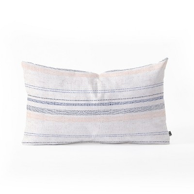 Holli ZollingerFrench Stripe Navy Throw Pillow - Deny Designs : Target