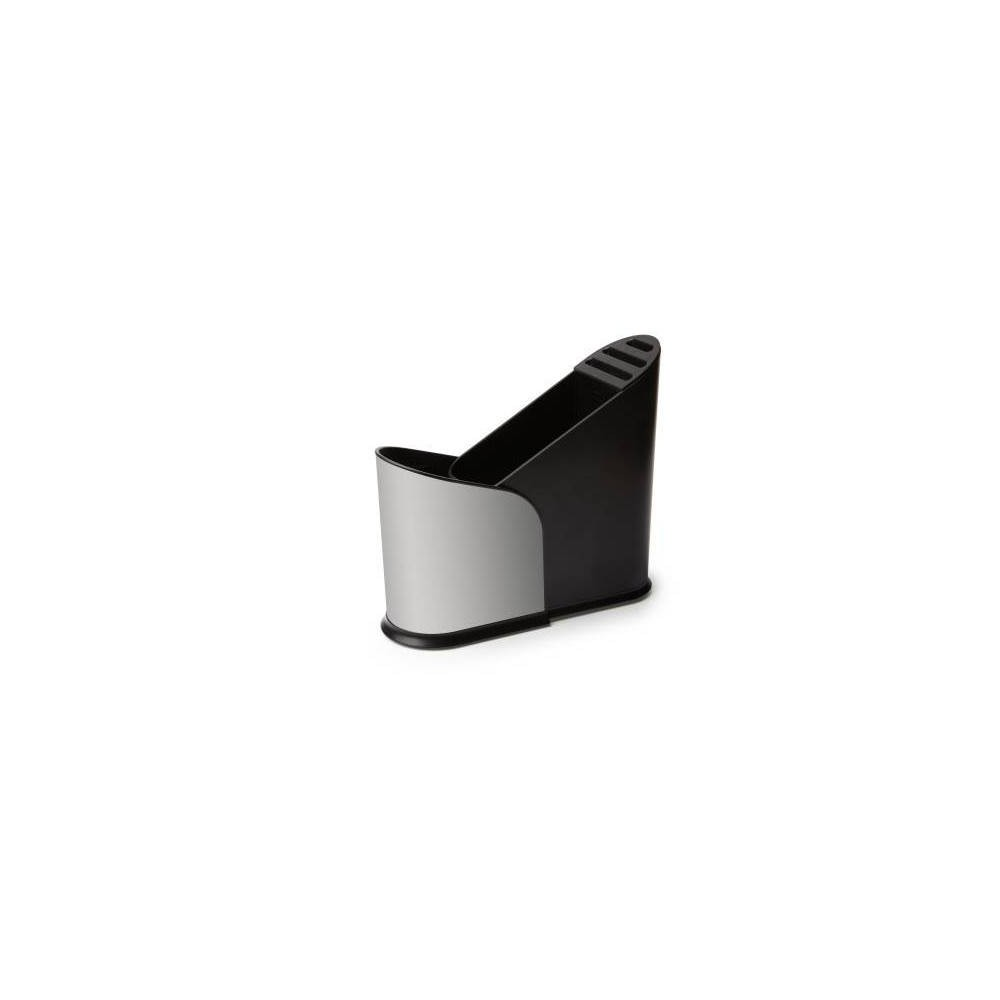 Image of Plastic Furlo Expanding Utensil Holder Black - Umbra