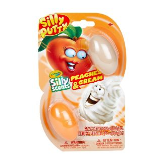 Silly Putty Silly Scents Mixems Peaches & Cream