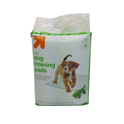 Puppy and Adult Dog Training Pads - L - 25ct- Up&Up™